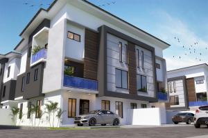 Semi Detached Duplex House for sale Omole phase 2 extension beside Omole 2 sharing boundary with  Magodo phase 2 Shangisha, Lagos state, Nigeria. Kosofe/Ikosi Lagos