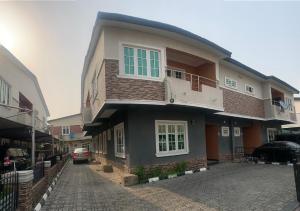 4 bedroom Semi Detached Duplex House for rent Paradise estate  chevron Lekki Lagos