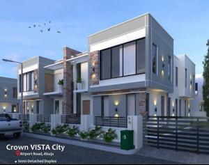 4 bedroom Detached Duplex House for sale Crown Vista City, Behind Trademore Estate Karmo Abuja