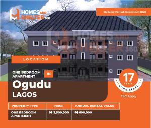 1 bedroom mini flat  Mini flat Flat / Apartment for sale Ogudu-Orike Ogudu Lagos