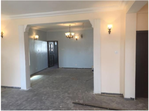 3 bedroom Church Commercial Property for rent Near Golden Gate Hotel Wuye Abuja