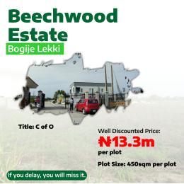 Residential Land Land for sale BOGIJE, AJAH FACING LEKKI EPE EXPRESS WAY.  Badore Ajah Lagos