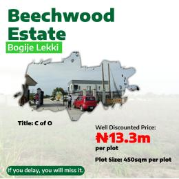 Residential Land Land for sale bogije Lakowe Ajah Lagos