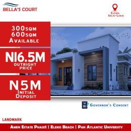 Residential Land for sale Before Amen Etate, Eleko Junction, Ibeju Lekki Lagos. Eleko Ibeju-Lekki Lagos
