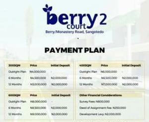 Residential Land Land for sale Off Monastery Road Sangotedo Ajah Lagos