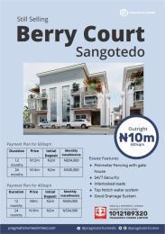 Residential Land Land for sale Berry Court Estate Sangotedo Ajah Lagos