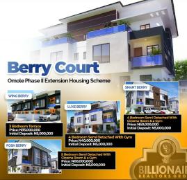 4 bedroom Semi Detached Duplex House for sale Omole Phase 2 Housing Extension Omole phase 2 Ojodu Lagos