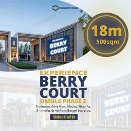Residential Land Land for sale Omole Phase 2 Extension Sharing Boundary With Magodo Phase 2 Magodo GRA Phase 2 Kosofe/Ikosi Lagos