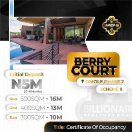 Land for sale Omole phase 2extension Ikeja GRA Ikeja Lagos