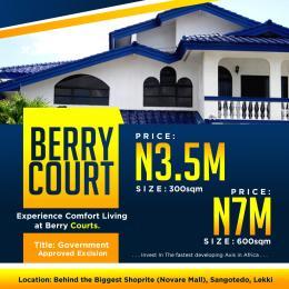 Residential Land Land for sale Behind Shoprite (novare Mall) Sangotedo Ajah Lagos