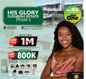 Residential Land for sale His Glory Flourish Estate Phase2. Epe Lagos