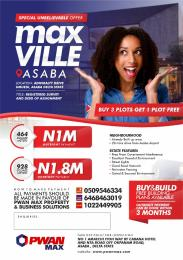Commercial Land Land for sale Max Ville Estate Admiralty Drive Umuedi Asaba Delta