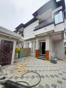 4 bedroom Semi Detached Duplex House for sale Orchid road by second toll gate lekki  Lekki Phase 2 Lekki Lagos