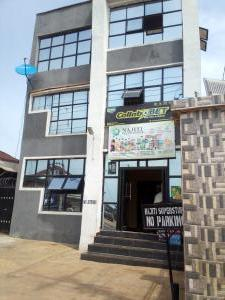 Church Commercial Property for rent Sakapena opp Alleluya petroleum Molete Ibadan Oyo