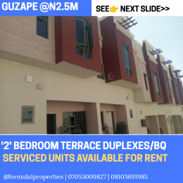 2 bedroom Terraced Duplex House for rent Guzape Abuja