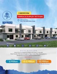 3 bedroom Terraced Duplex House for sale Magboro Arepo Arepo Ogun