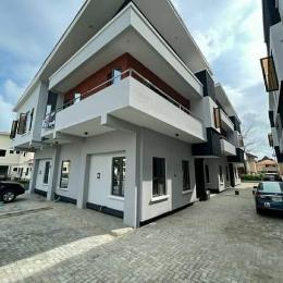 4 bedroom Terraced Duplex House for rent Inside a secured estate  along Orchid Road chevron Lekki Lagos