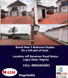 5 bedroom House for sale off government road ikotun lagos state Nigeria Ikotun/Igando Lagos