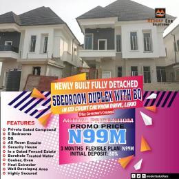 5 bedroom Detached Duplex House for sale Izu Court estate Chevron chevron Lekki Lagos