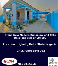 Blocks of Flats House for sale Ughelli Delta state Nigeria Ughelli North Delta