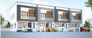 2 bedroom Terraced Duplex House for sale 2 bedroom Terrace Duplex with a BQ in Meridian boulevard Estate Okun Ajah Ajah Lagos