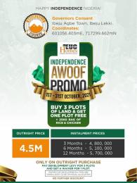 Residential Land for sale Ibeju Agbe Town Ibeju-Lekki Lagos