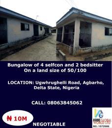 House for sale Ugwhrughelli road Agbaroh  Delta state Nigeria Ughelli South Delta