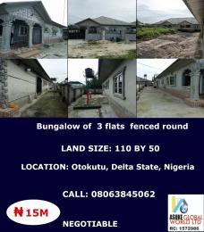 3 bedroom House for sale Otokutu,delta State Nigeria Warri Delta