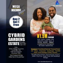 Land for sale Tagbati Town Eleranigbe Ibeju-Lekki Lagos