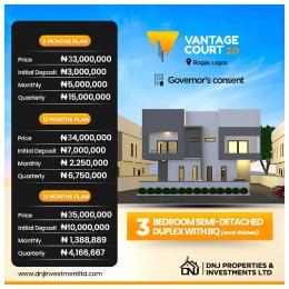 3 bedroom Semi Detached Duplex House for sale SHAPATI IBEJU LEKKI  Ibeju-Lekki Lagos