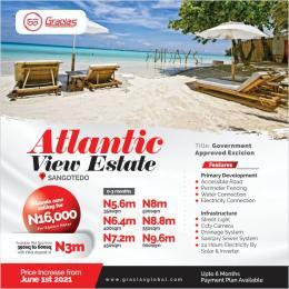 Land for sale Sangotedo Ajah Lagos