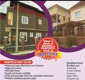 Residential Land for sale 3 Minutes Drive From Shoprite Sangotedo. Amity Estate Is About 35 Minutes Drive From Victoria Island. Sangotedo Ajah Lagos