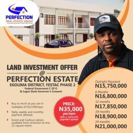 Serviced Residential Land Land for sale Festac Amuwo Odofin Lagos