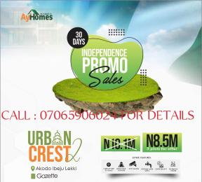 Mixed   Use Land for sale 2 Minutes Drive From Lekki Free Trade Zone By The Road Akodo Ise Ibeju-Lekki Lagos