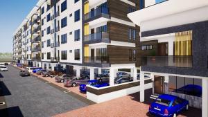 1 bedroom mini flat  Blocks of Flats House for sale After Ikate Elegushi, Opposite Nicon Town, Behind Romey Gardens,Ilasane, Salem Bustop Lekki Phase 1 Lekki Lagos