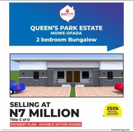 Terraced Bungalow House for sale Queen's park estate mowe ofada Abule Egba Lagos