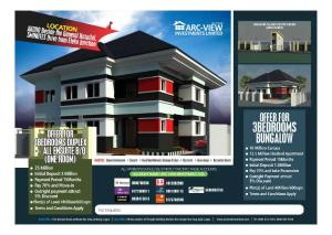 3 bedroom Detached Bungalow House for sale Akodo Free Trade Zone Ibeju-Lekki Lagos