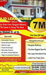 Commercial Land Land for sale Oshoroko, Ibeju Lekki. 3 minutes drive from Dangote Refinery Free Trade Zone Ibeju-Lekki Lagos