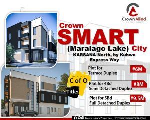 5 bedroom Mixed   Use Land Land for sale By nipco filling station Kubwa express way Karsana Abuja
