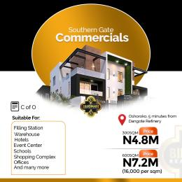 Commercial Land Land for sale Okunraiye Ibeju-Lekki Lagos