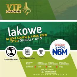 Serviced Residential Land Land for sale Beside Lakowe Golf course Lakowe Ajah Lagos  Lakowe Ajah Lagos