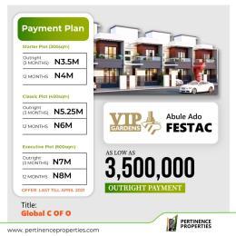 Residential Land Land for sale Vip Gardens In Abule Ado Festac Amuwo Odofin Lagos