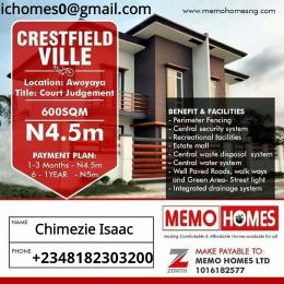 Serviced Residential Land Land for sale Few Minutes Drive From Lekki Epe Express Way Awoyaya Ajah Lagos