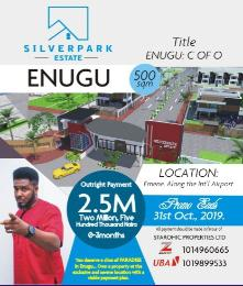 Residential Land Land for sale Silver park estate Emene along the international airport  Enugu Enugu