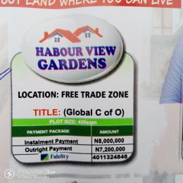 Mixed   Use Land Land for sale A DEVELOPED AREA WHERE YOU CAN BUY AND START BUILDING IMMEDIATELY  Free Trade Zone Ibeju-Lekki Lagos