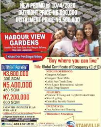 Mixed   Use Land Land for sale Free trade Zone after Dangote refinery,ibeju lekki.Lagos  Free Trade Zone Ibeju-Lekki Lagos