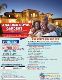 Mixed   Use Land Land for sale ANA-OMA ROYAL GARDENS AT IDEMMILI NORTH ANAMBRA STATE  Idemili North Anambra