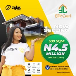 Residential Land Land for sale Elite Court In Lafenwa Ayetoro Road Abeokuta Abeokuta Ogun