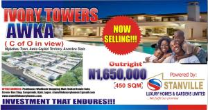 Mixed   Use Land Land for sale C of O Land for Sale in Ivory Towers Awka Anambra State Anambra Anambra