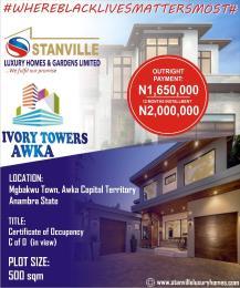 Residential Land Land for sale Ivory towers mgbakwu town Awka capital territory Anambra  Awka North Anambra